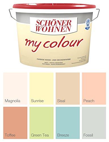 Schöner Wohnen Wandfarbe My Colour 10 L., Zarte Farben Fossil Matt