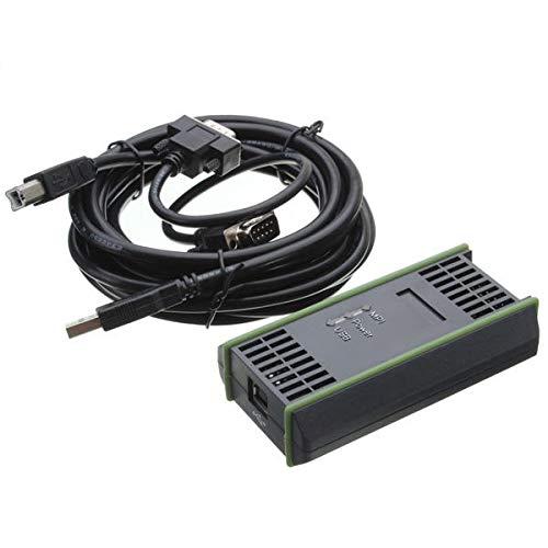 hgbygvuy Cable 6ES7972-0CB20-0XA0 para Adaptador S7-200/300/400 RS485 PROFIBUS/MPI/PPI 64bit S