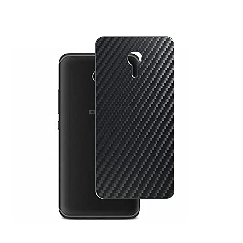 Vaxson 2 Unidades Protector de pantalla Posterior, compatible con BLU R1 HD 2018, Película Protectora Espalda Skin Cover - Fibra de Carbono Negro