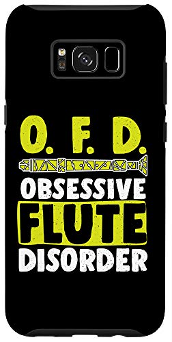 Galaxy S8+ Funny OFD Obsessive Flute Disorder Wind Music Flutes Lovers Case