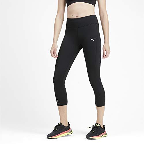 PUMA Damen Always On Solid 3/4 Tight Leggings, Black, M