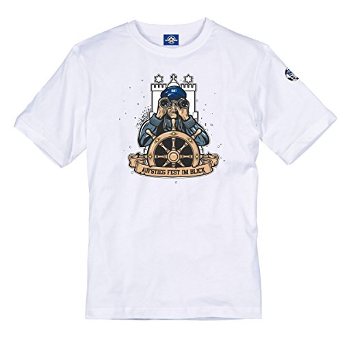 Volkspark Hamburg Streetwear Herren Shirt Anti 1910