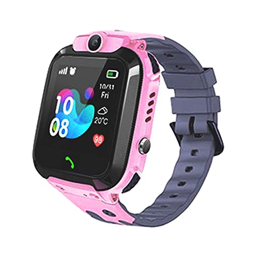 Smart Watch for Kids LBS Tracker - IP67 Waterproof Smartwatches with SOS Voice Chat Camera Alarm Clock Digital Wrist Watch Smartwatch Girls Boys Birthday Presents