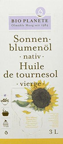 Bio Planète Bio Sonnenblumenöl nativ, 3 l