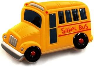 ACME Refrigerator Magnetic Clip Yellow School Bus