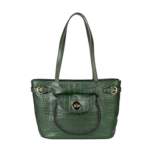 Hidesign Women's Handbag (Emerald Green)