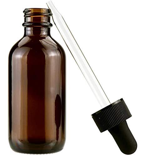 Flaconi contagocce in vetro ambra da 30 pezzi da 1 oz con contagocce in vetro, contenitori per flaconi contagocce in vetro, per olio essenziale, aromaterapia, massaggi, profumi cosmetici, laboratori