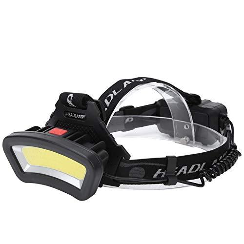 FOLOSAFENAR Lámpara para la Cabeza al Aire Libre Linterna Frontal LED Resistente multifunción Camping al Aire Libre Pesca Linterna Cabeza Camping Pesca Linterna Cabeza Ligero para Acampar, Senderismo