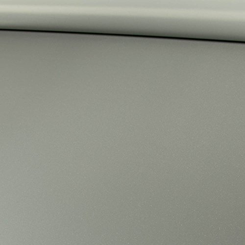 Reflektierender Stoff Effektstoff Silbergrau - Preis Gilt für 0,5 Meter -
