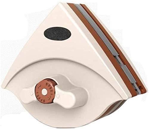 La seguridad Limpiador de ventanas magnéticas de doble cara, limpiador de vidrio de limpiador magnético ajustable de doble cara, limpiaparabrisas de limpiaparabrisas magnética, adecuada para 5-35 mm d