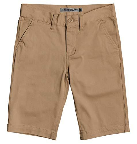 """DC Shoes Worker Chino 18.5"""" - Short Chino - Garçon Enfant 8-16 Ans - Vert"""