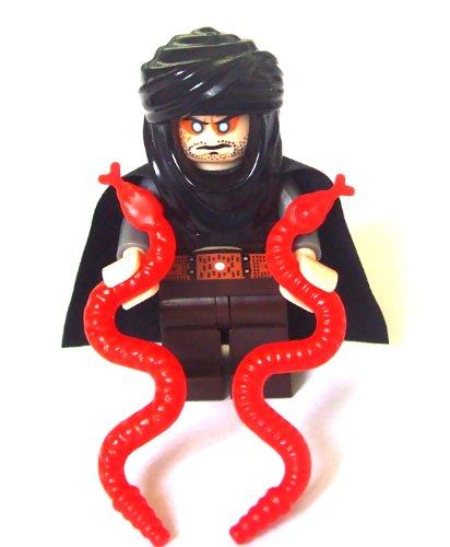 LEGO Prince of Persia - Figura del líder de los Hassassin con Dos Serpientes