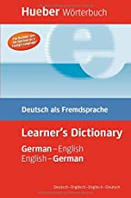 Hueber Wörterbuch Learner's Dictionary: Deutsch als Fremdsprache / German-English / English-German Deutsch-Englisch / Englisch-Deutsch