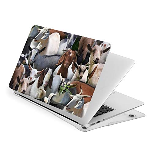 MacBook Air 13 Inch Case Farm Animals Goats Fit A1369 A1466 Laptop Slim Hard Shell Plastic Protective Cover