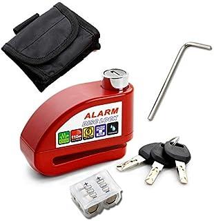 $31 » Sponsored Ad - Bike Lock Anti-theft Alarm Disc Lock Waterproof Disc Brake Lock 110db Red Motorcycle Lock,Disc Brake Lock, ...