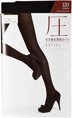 [アツギ]タイツASTIGU(アスティーグ)【圧】引き締め発熱タイツ120デニールFP1112レディースブラック日本S~M(日本サイズS-M相当)