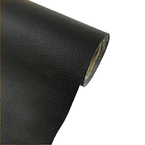 [Fumemo] レザーシール 貼るレザー PU 合皮 レザー 革 家具 ソファ 車 シート 財布 バッグ 修理 (黒)