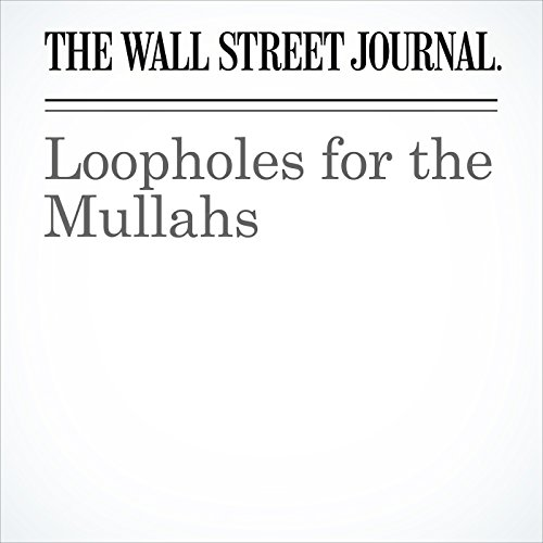 Loopholes for the Mullahs cover art