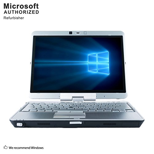 HP EliteBook 2740p 12.1 Inch Business PC, Intel Core i5-520M up to 2.93GHz, 4G DDR3, 128G SSD, WiFi, VGA, Windows 10 Pro 64 Bit Multi-Language Support English/French/Spanish(Renewed)