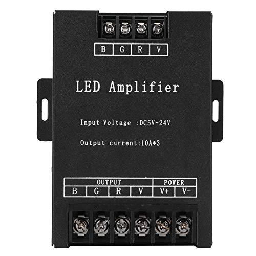Amplificador de señal LED, módulo repetidor DC5-24V del controlador de potencia del controlador de luz RGB de la lámpara