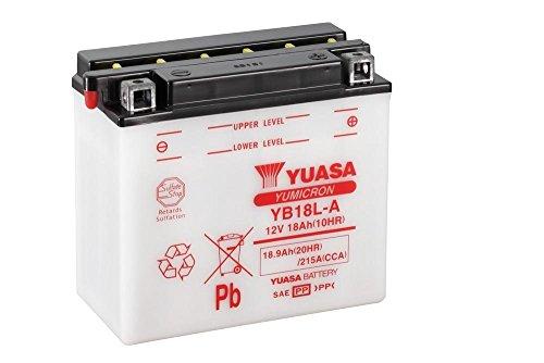 Batteria YUASA yb18l di a, 12V/18ah (dimensioni: 181X 92X 164) per moto guzzi Nevada Classic 750anno di costruzione 2010