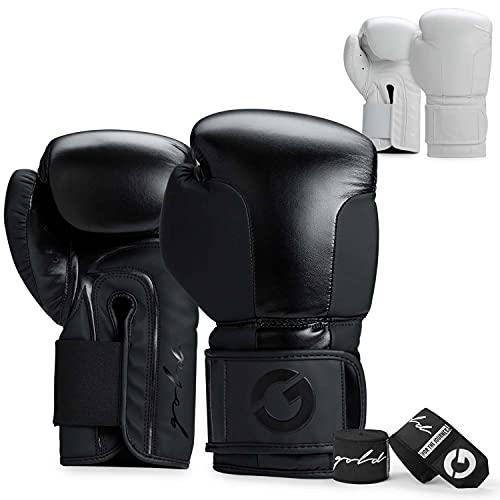 Gold BJJ Foundation Boxing Gloves