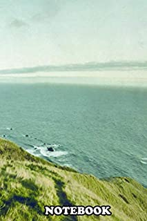 Notebook: Coastal Road Somewhere Between Oregon And California , Journal for Writing, College Ruled Size 6