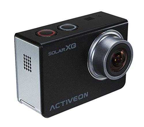 ACTIVEON XCA10W XG Solar Station Action Kamera, 14 Mega Pixel schwarz