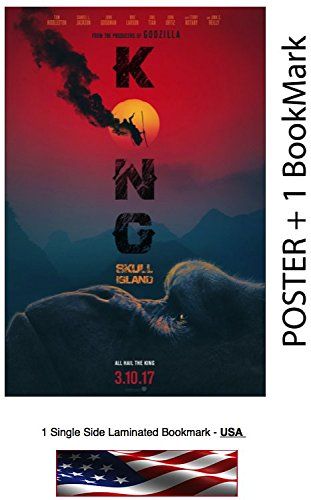 Kong Skull Island (2017) - Movie Poster, Size: 24 x 36 (Photo Paper - Thick, 8 mil)