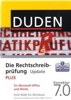 DUDEN Die Rechtschreibprüfung PLUS Update f.MS Office u.Works, Korrektor 7.0 [import allemand]