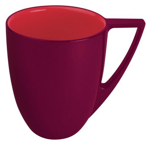 Platex 90030008417 Lot de 6 Mugs en Mélamine \