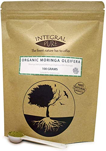 Organic Moringa Oleifera Powder | 1g Scoop Included (200g)