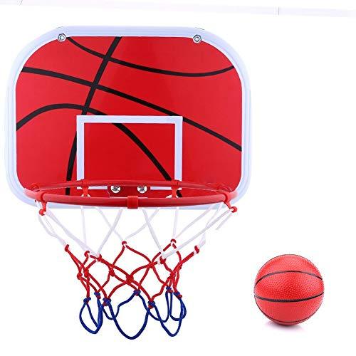 Mini Tablero de Baloncesto Colgante KEENSO, aro para Interiores y Exteriores, Juguete para niños con Bomba de Aire, aro de Baloncesto para Colgar en la Pared