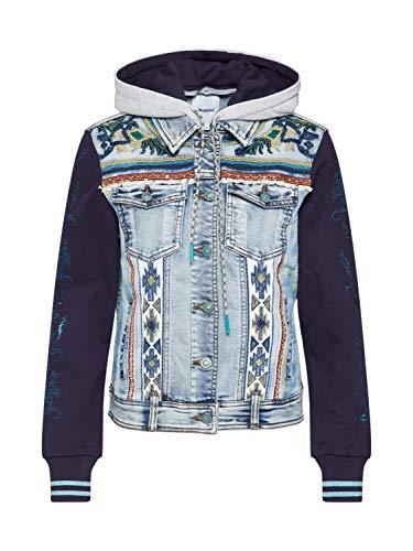 DESIGUAL LORIS Jacks/Blazers femmes Blauw Spijker jassen