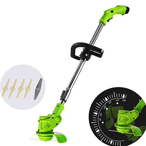 Best Price Brushless Lawn Mower, 12V Lithium Battery Cutter, Cutting Diameter 14CM, Comes with 4 Pla...