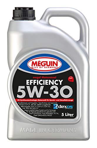 Meguin 3194 Megol Motoröl Efficiency SAE 5W-30, 5 L