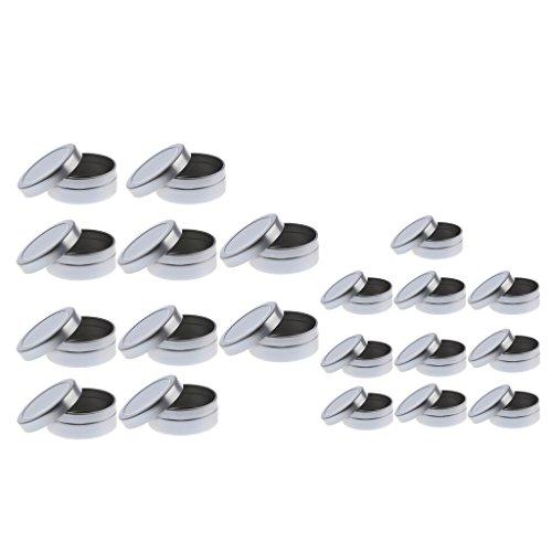 #N/a 20 Frascos Vacíos de 10/20 Ml Frascos de Contenedores Frascos Frascos de Crema Frascos de Cosméticos