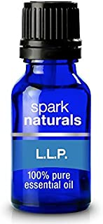 Spark Naturals - Llp Allergy Blend 5ml Pure Therapeutic Grade Essential Oil | Breathe, Sinus, Congestion, Cough, and Respiratory Relief | Premium Aromatherapy Oil Blend 5ml