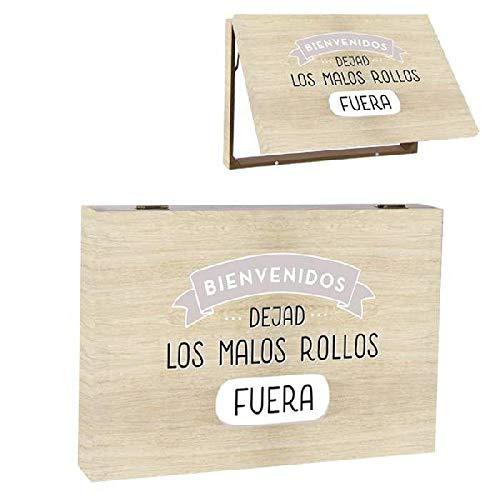 Dcasa Tapa Contador Malos Rollos Decorativas de Ventana Muebles Pegatinas Decoración del hogar, Multicolor (Multicolor), única