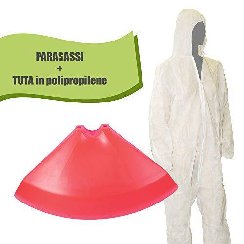 BuyStar - Juego de protección Universal para desbrozadora y Traje de Trabajo PLP-TNT, Juego de Herramientas de jardinería, para desbrozadora de césped y jardín