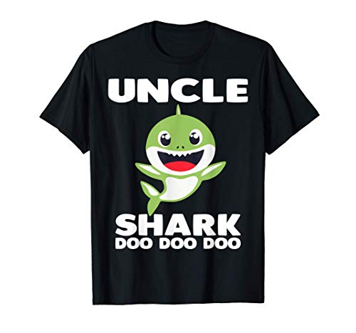 Uncle Shark Doo Doo Mommy Auntie Daddy Baby Tee T-Sh