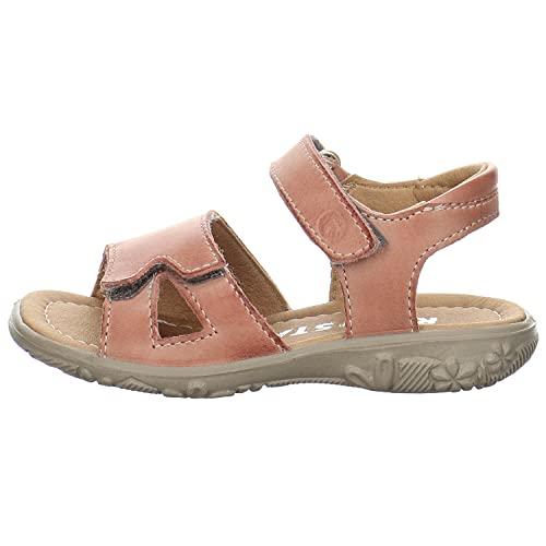 Ricosta Mädchen Sandalette Moni Sandale Leder- glatt / genar rosa Gr. 29