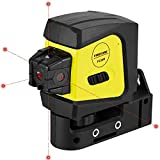 Firecore F335R 5-Point Laser, Red Beam Self-Leveling Spot Laser Level with Magnetic Bracket
