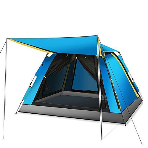Jiamuxiangsi- Automatische tent Buiten 3-4-6 Personen Gratis te bouwen Camping Tent Multi-persoon Regendicht Wild Grote 210x210x145cm -tent
