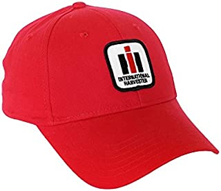 International Harvester Logo Hat, Red