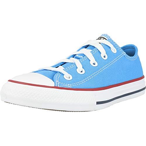 Converse Chuck Taylor All Star Ox Azul/Rojo (Coast/Garnet) Tela 33 EU
