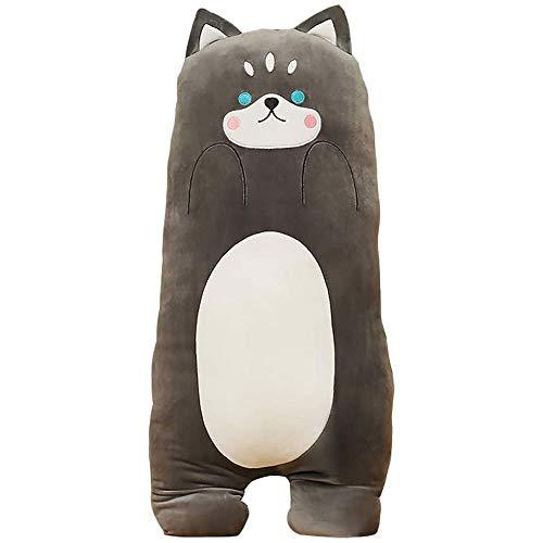 FFXZL Juguetes de Peluche de Felpa Squishy Animal PillowCute Shiba Super Soft Cartoon Hugging Toy Home Cojín Cat Cartoon Pillow Boy Girl Regalo de cumpleaños