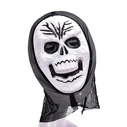 RCFRGV Halloween masker Grim Reaper Cosplay Kostuum Maskerade Halloween Carnaval Festival Ivoor Carnaval Kostuums Patchwork