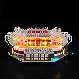 GANADA Kit Lumières pour Lego Old Trafford Manchester United 10272, Kit dÉclairage LED Jeu de Lumières Compatible avec Lego 10272(Modèle Pas Inclus)