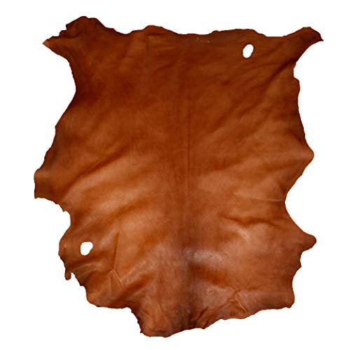 Glacier Wear First Quality Buckskin Leather - Acorn (8.00 to 8.75 sq ft)